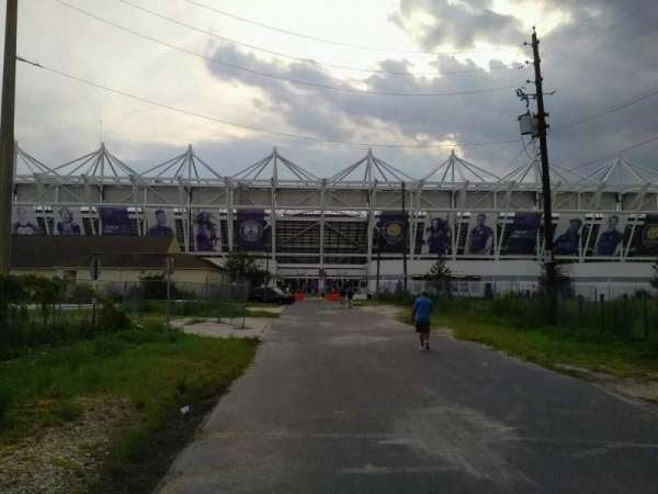 Orlando City Stadium, section: exterior