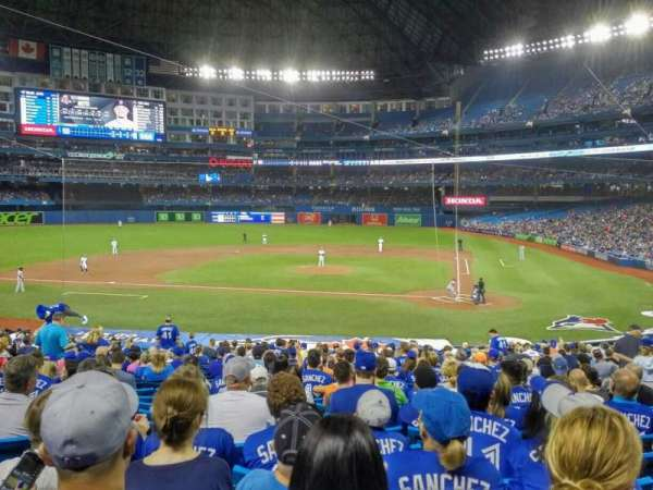Rogers Centre, section: 125R, row: 31, seat: 12
