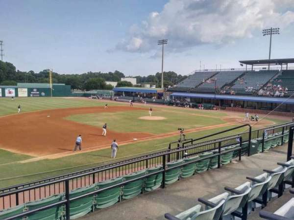 Hank Aaron Stadium, section: GA