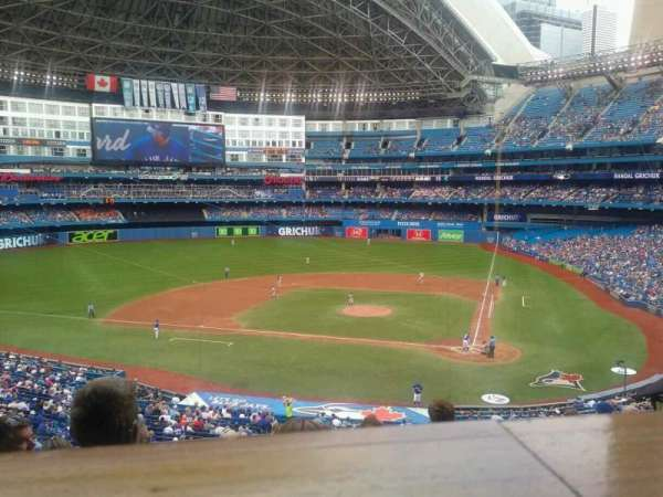 Rogers Centre, section: 227R, row: 10, seat: 4