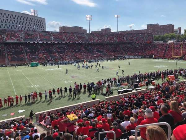 Nippert Stadium, section: 126, row: 30, seat: 5