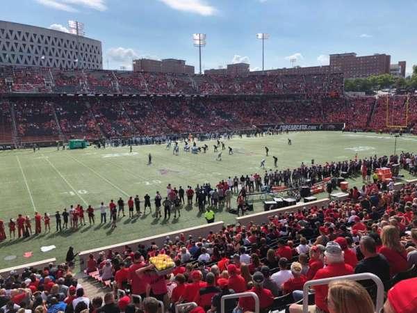 Nippert Stadium, section: 126, row: 30, seat: 5