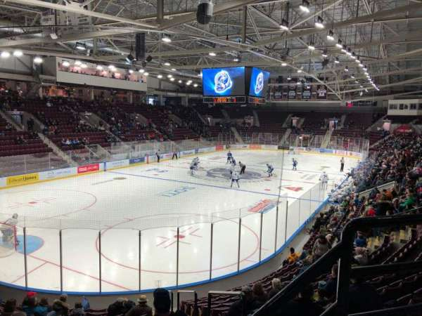 Paramount Fine Foods Centre, section: 16, row: P, seat: 2