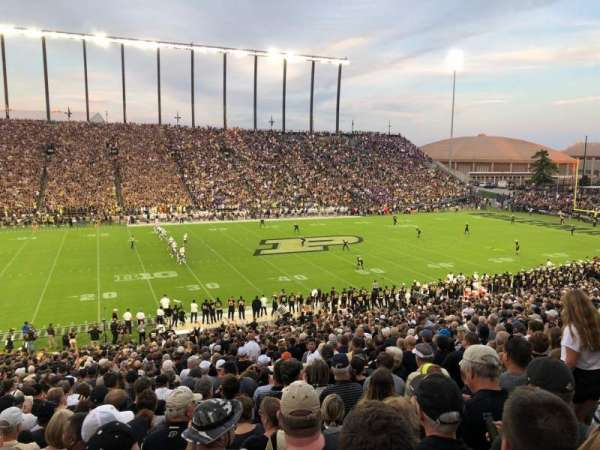 Ross-Ade Stadium, section: 123, row: 48, seat: 5
