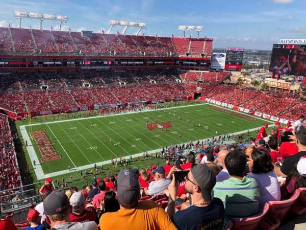 Raymond James Stadium, section: 331, row: N, seat: 1