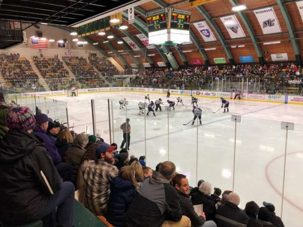Gutterson Fieldhouse, section: 16, row: J, seat: 12