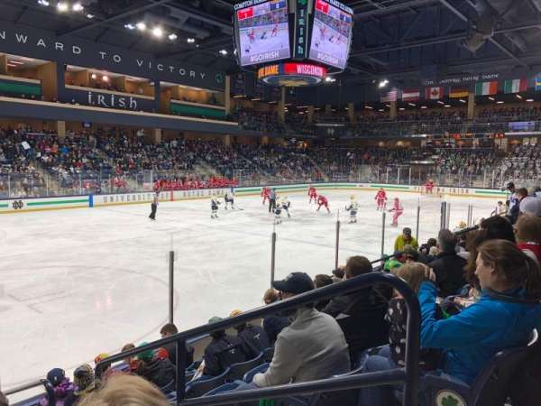 Compton Family Ice Arena, section: 17, row: 7, seat: 4