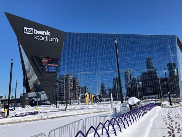 U.S. Bank Stadium, section: Exterior