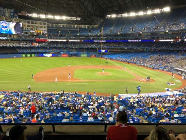 Rogers Centre, section: 230R, row: 4, seat: 7