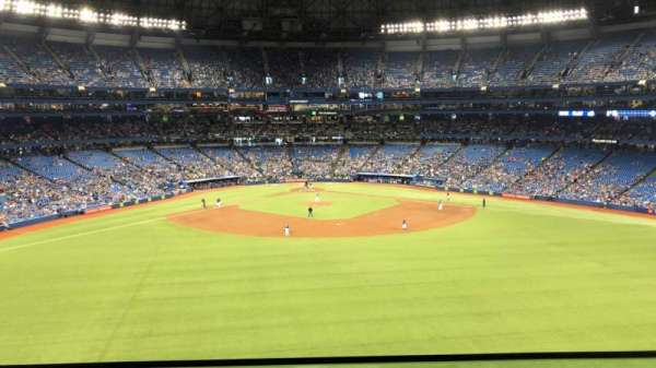 Rogers Centre, section: SL12, row: A, seat: 39