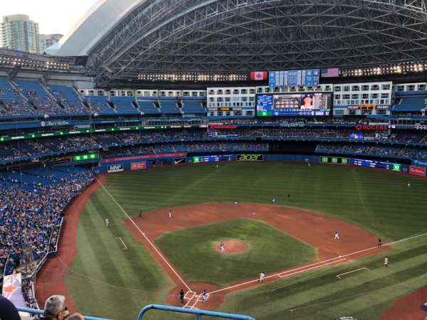 Rogers Centre, section: 523R, row: 4, seat: 1