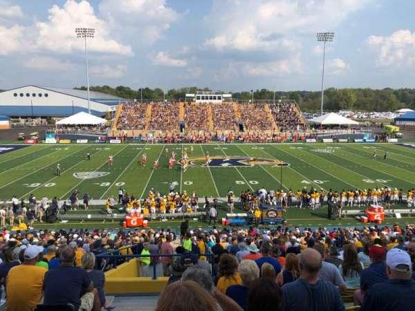 Dix Stadium, section: 4, row: 19, seat: 1