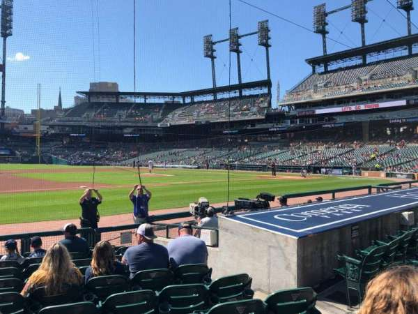 Comerica Park, section: 136, row: 11, seat: 5