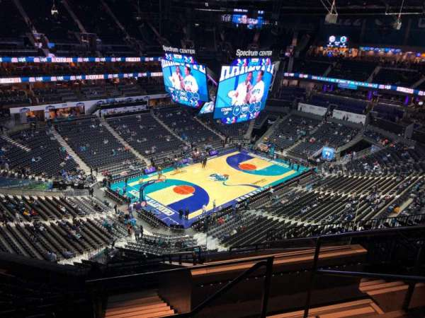 Spectrum Center, section: 230, row: K, seat: 3