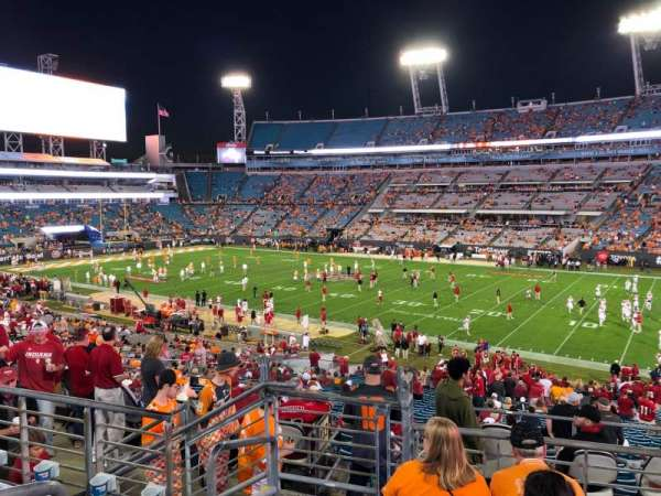 TIAA Bank Field, section: 232, row: E, seat: 21