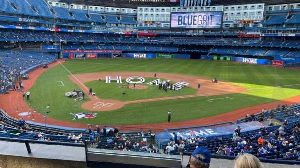 Rogers Centre, section: 222L, row: 4, seat: 108