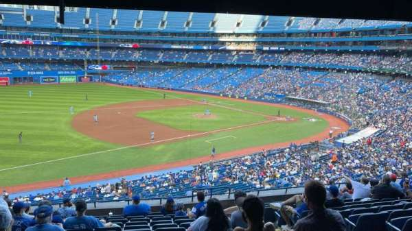 Rogers Centre, section: 233L, row: 13, seat: 102