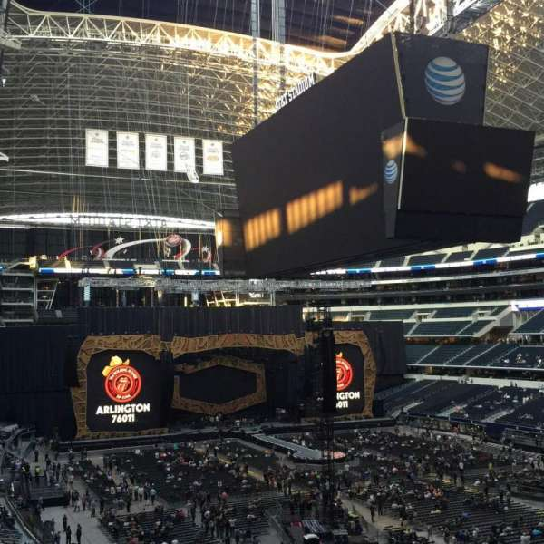 AT&T Stadium, section: 327, row: 1, seat: 35