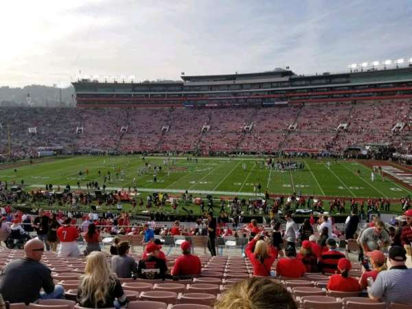 Rose Bowl, section: 6, row: 43, seat: 10