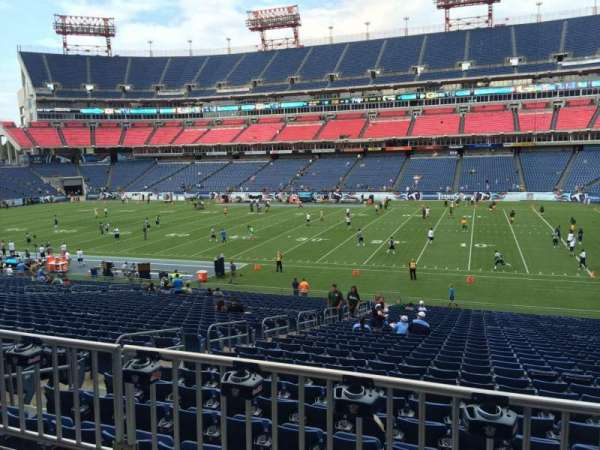 Nissan Stadium, section: 132, row: HH, seat: 18