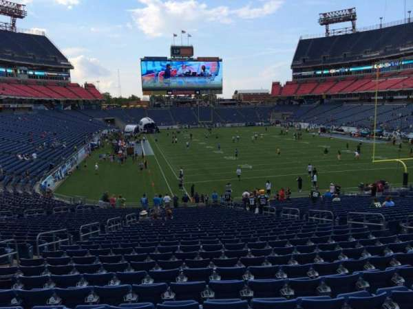 Nissan Stadium, section: 126, row: LL, seat: 10