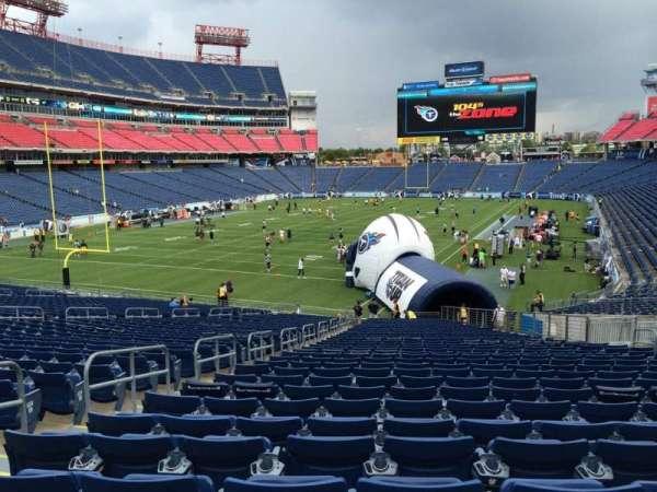 Nissan Stadium, section: 143, row: JJ, seat: 13