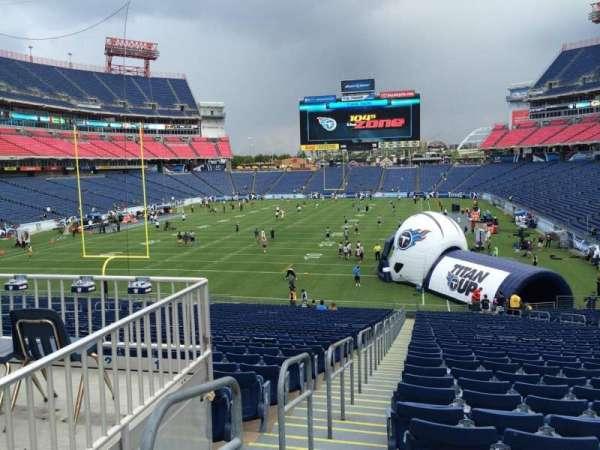 Nissan Stadium, section: 144, row: LL, seat: 20