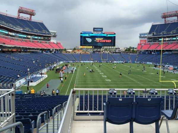 Nissan Stadium, section: 102, row: SRO Behind H