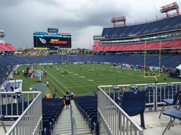 Nissan Stadium, section: 103, row: SRO