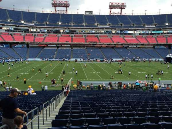 Nissan Stadium, section: 114, row: HH, seat: 16