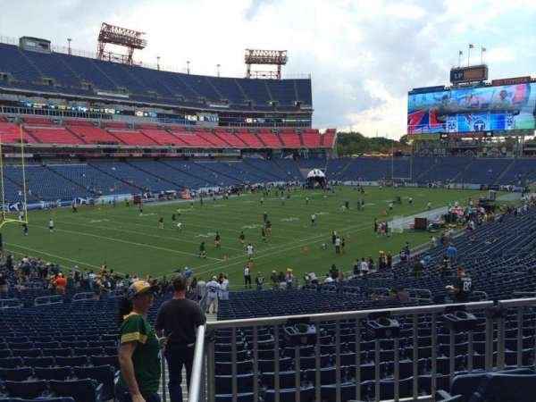 Nissan Stadium, section: 118, row: HH, seat: 12