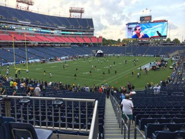 Nissan Stadium, section: 120, row: HH, seat: 1