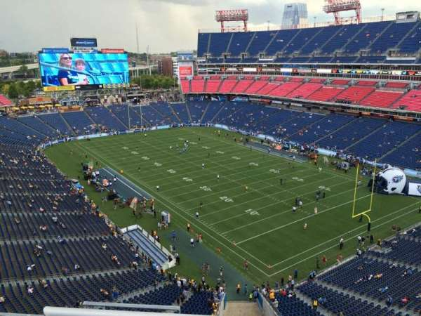 Nissan Stadium, section: 303, row: K, seat: 4