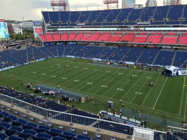 Nissan Stadium, section: 307, row: K, seat: 4