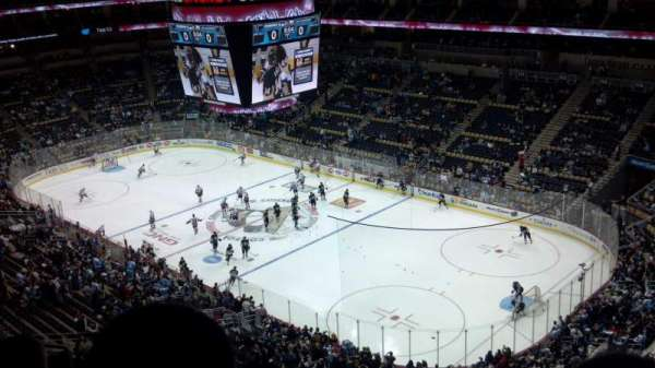 PPG Paints Arena, section: 232, row: K, seat: 12