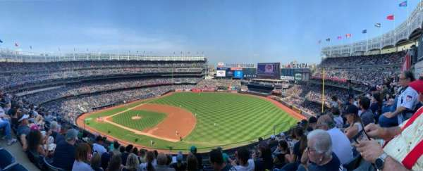 Yankee Stadium, section: 313, row: 8, seat: 9