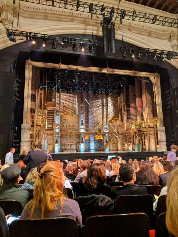 Orpheum Theatre (San Francisco), section: Orchestra LC, row: P, seat: 117