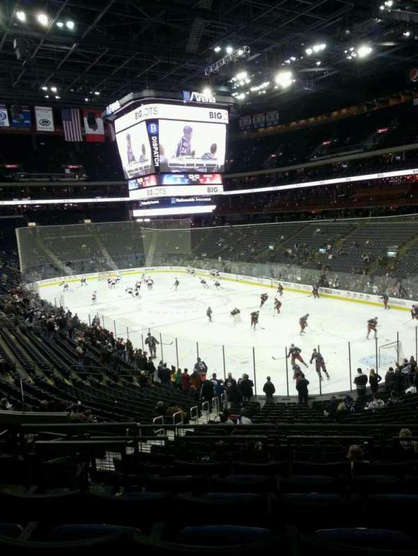 Nationwide Arena, section: 122, row: FF, seat: 10