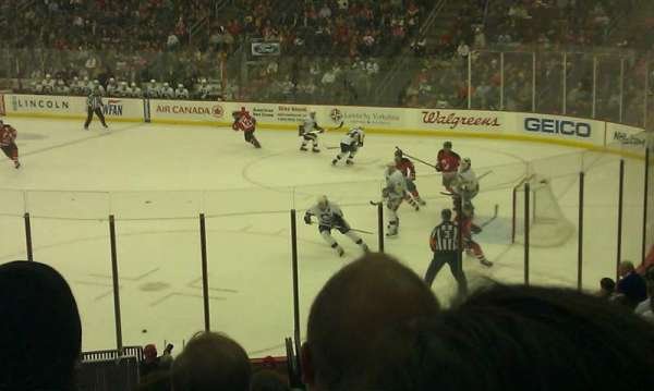 Prudential Center, section: 22, row: 17, seat: 5