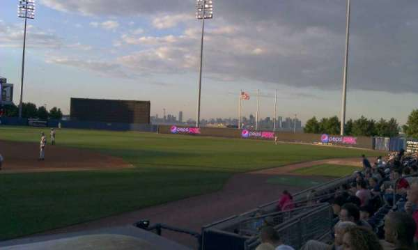 Richmond County Bank Ballpark, section: 13, row: g, seat: 15