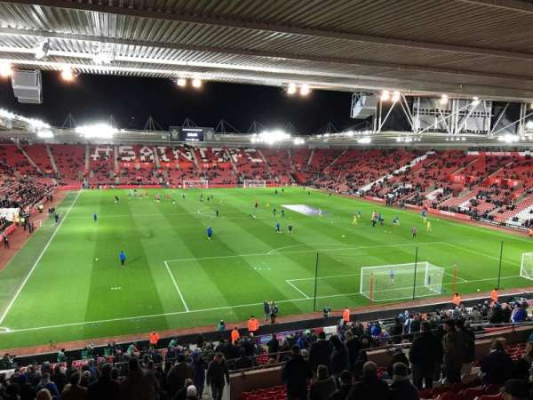 St Mary's Stadium, section: 45, row: MM, seat: 1169