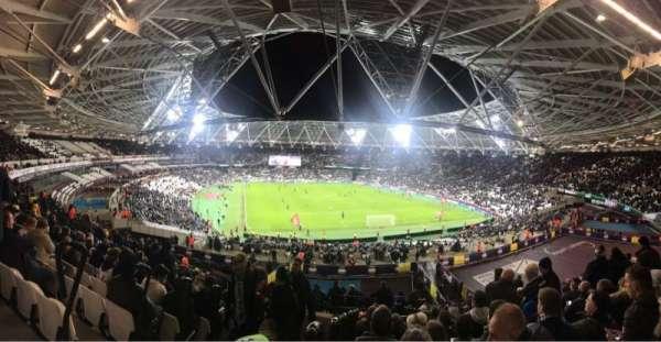 London Stadium, section: 219, row: 51, seat: 83