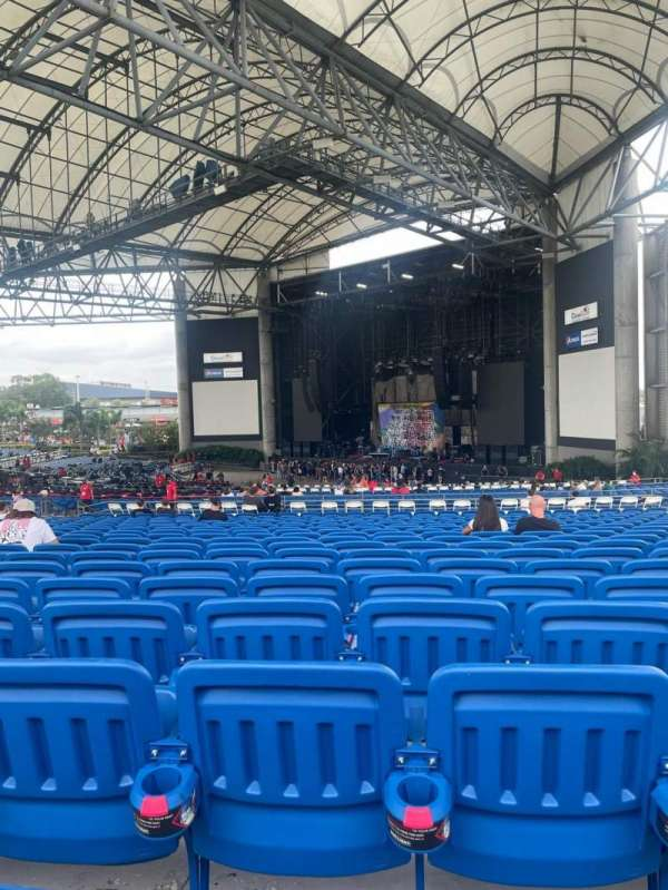 MidFlorida Credit Union Amphitheatre, section: 16, row: V, seat: 25