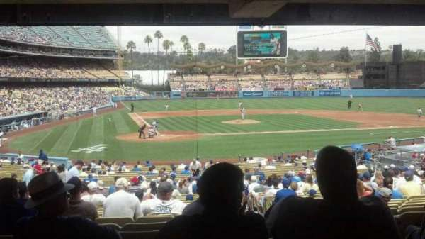 Dodger Stadium, section: 8FD, row: y, seat: 12