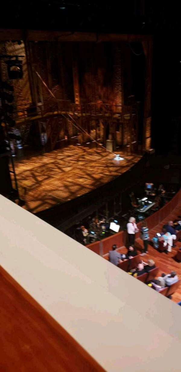 Au Rene Theater, section: MezzBox, row: A, seat: 7