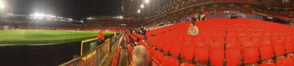 Old Trafford, section: N1404, row: BB, seat: 240