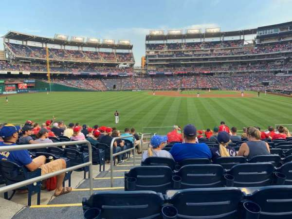 Nationals Park, section: 104, row: P, seat: 15