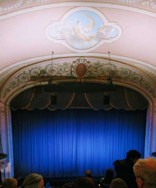Merriam Theater, section: Balcony, row: J, seat: 109