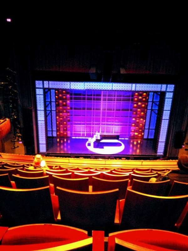 Stephen Sondheim Theatre, section: Mezzanine, row: HH, seat: 114