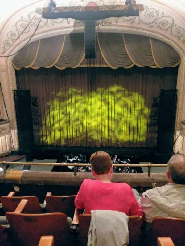 Merriam Theater, section: Balcony, row: D, seat: 105